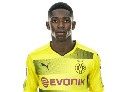 Ousmane Dembélé avec les couleurs du Borussia Dortmund, le 10 août 2017