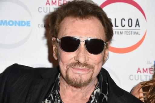 Johnny Hallyday à Hollywood, aux Etats-Unis, le 24 avril 2017