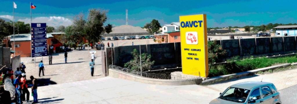 Bâtiment de l'OAVCT à Tabarre.