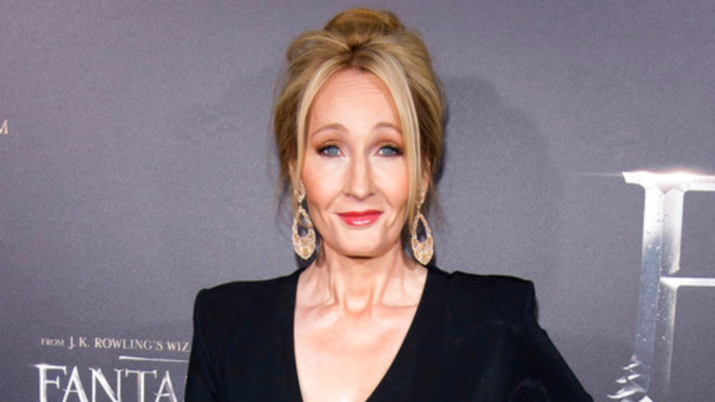 """In this Nov. 10, 2016 file photo, J. K. Rowling attends the world premiere of """"Fantastic Beasts and Where To Find Them"""" in New York. (Photo by Charles Sykes/Invision/AP, File)"""