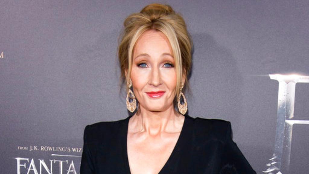 British author J.K. Rowling.