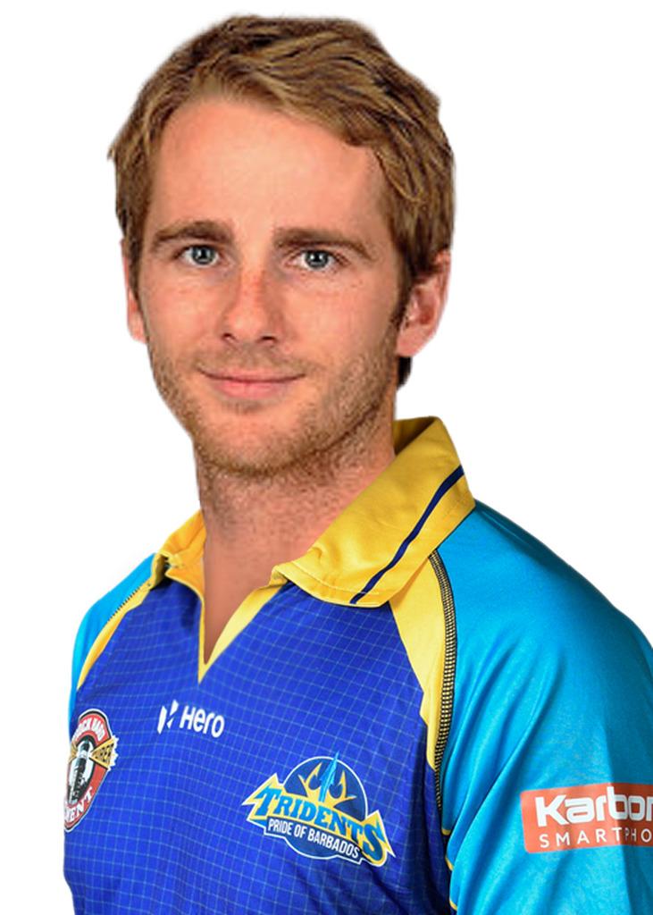 Barbados Tridents player, Kane Williamson.