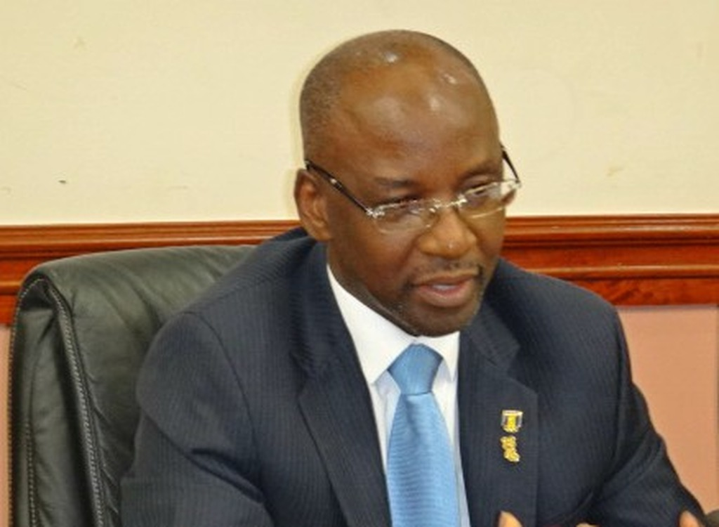 FILE - Minister Stephen Lashley called an emergency press conference to discuss CARIFESTA XIII yesterday.