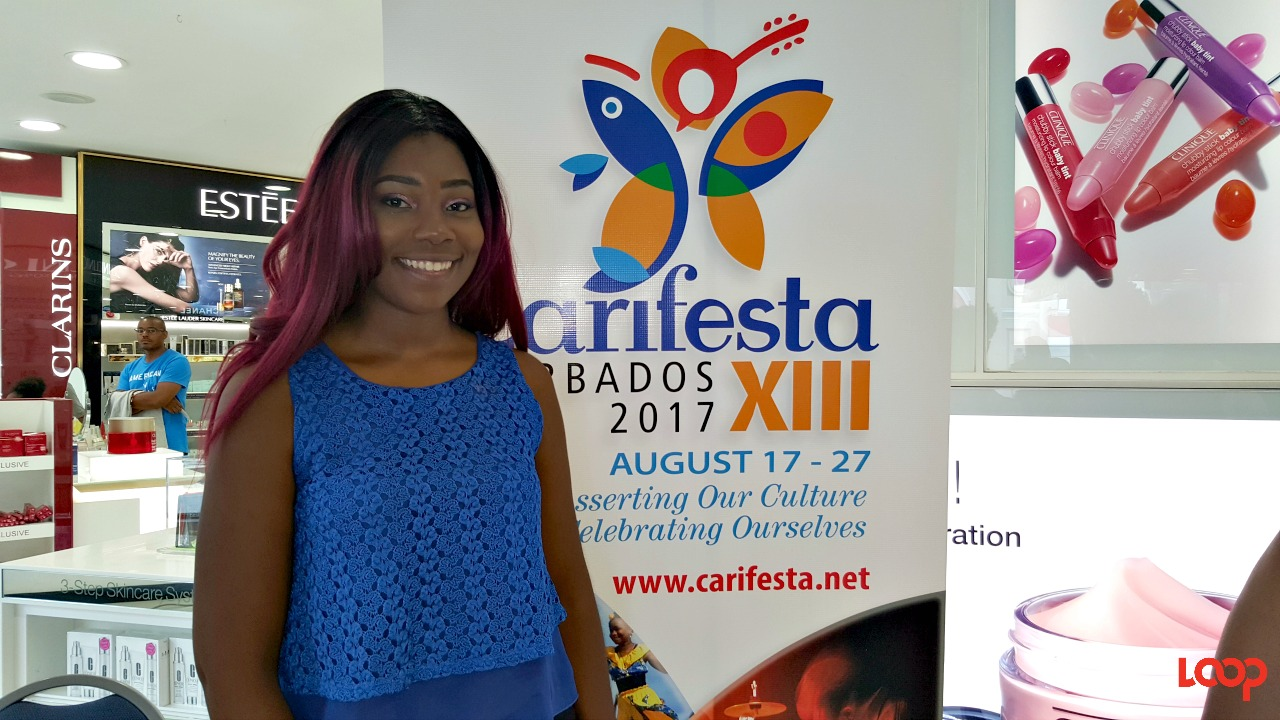 Barbadian Ashley Tang, writer and composer of the CARIFESTA XIII song.