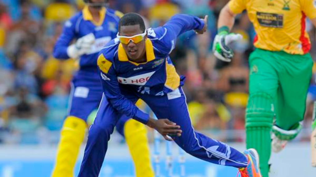 Hosein starred with the bat and ball for the Barbados Tridents