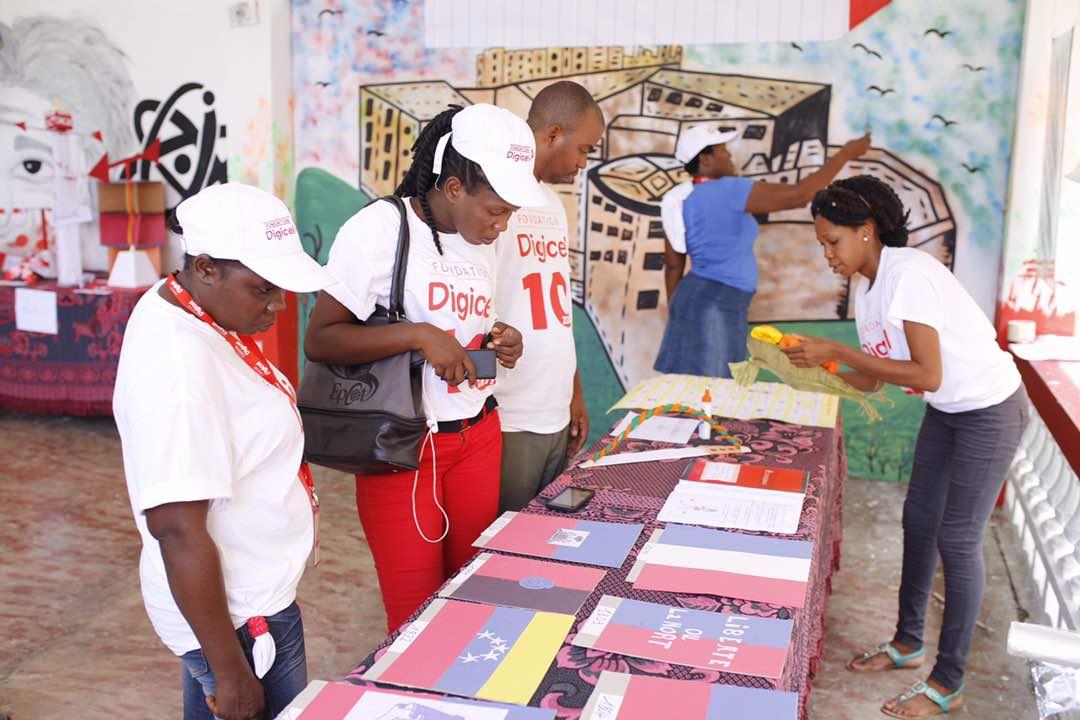 Clôture du programme de formations de professeurs et directeurs d'école par la Fondation Digicel a Camp-Perrin.