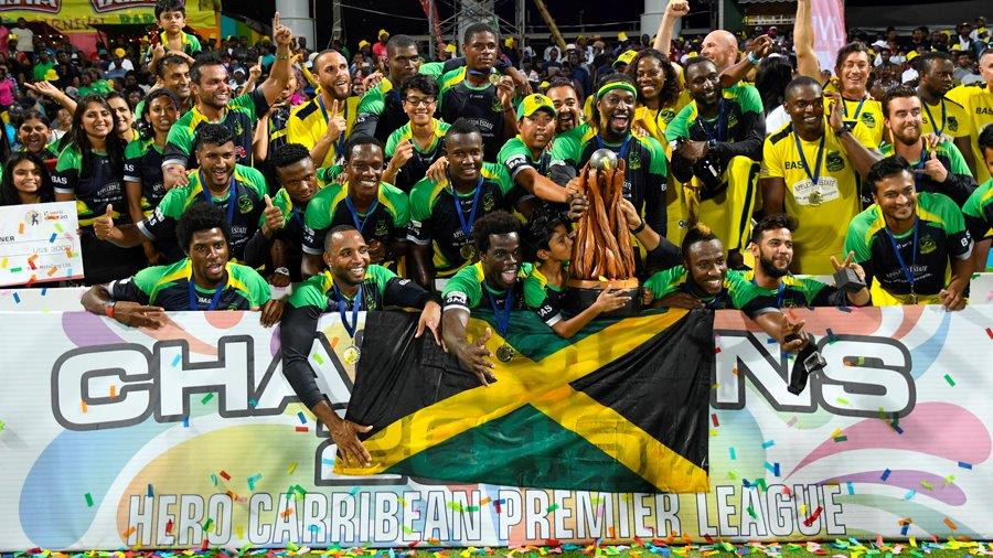 Jamaica Tallawahs marched to a crushing nine-wicket win over Guyana Amazon Warriors in St Kitts to clinch their second CPL title (CPL/Sportsfile)