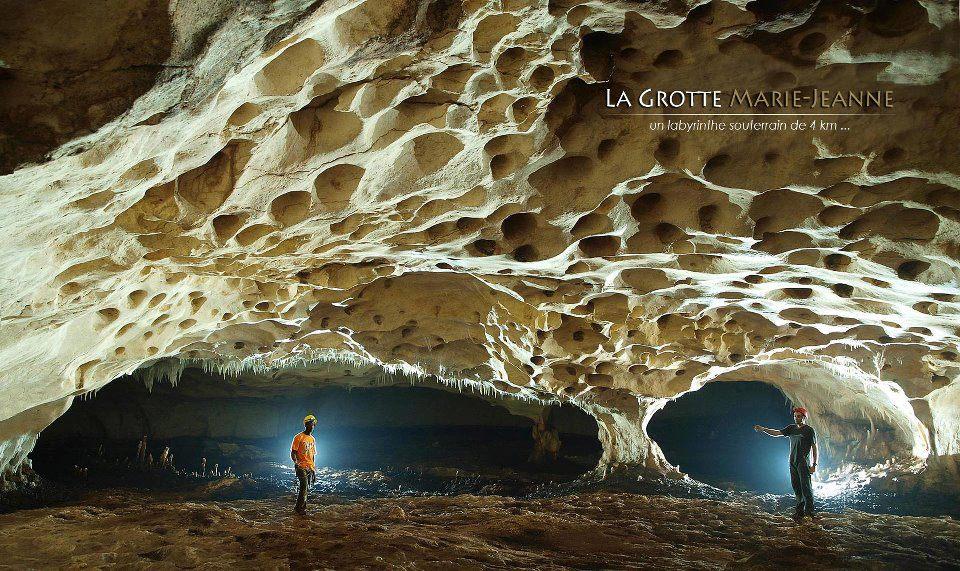 La grotte Marie Jeanne située à Port-à-Piment. Credit photo: les grottes d'haiti