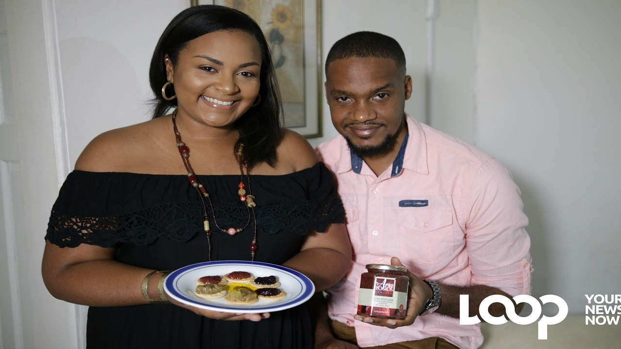 Ayesha and Ramaar Allen aim to build a food business, they have started with chia seed jams.