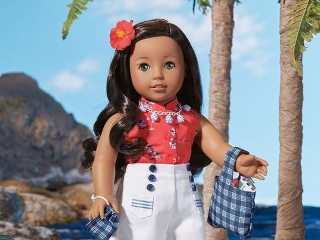 This fall, American Girl releases Native Hawaiian Nanea Mitchell. (American Girl Photo via AZCENTRAL.com)