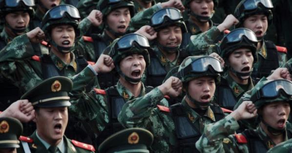 Des soldats de l'Armée populaire de libération./ Photo: rfi.fr