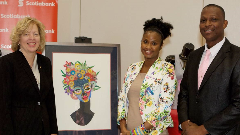 (L-R) Anya Schnoor, Senior VP and