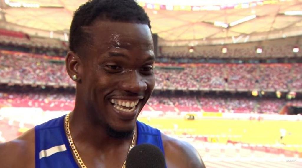 Barbadian athlete, Shane Brathwaite.