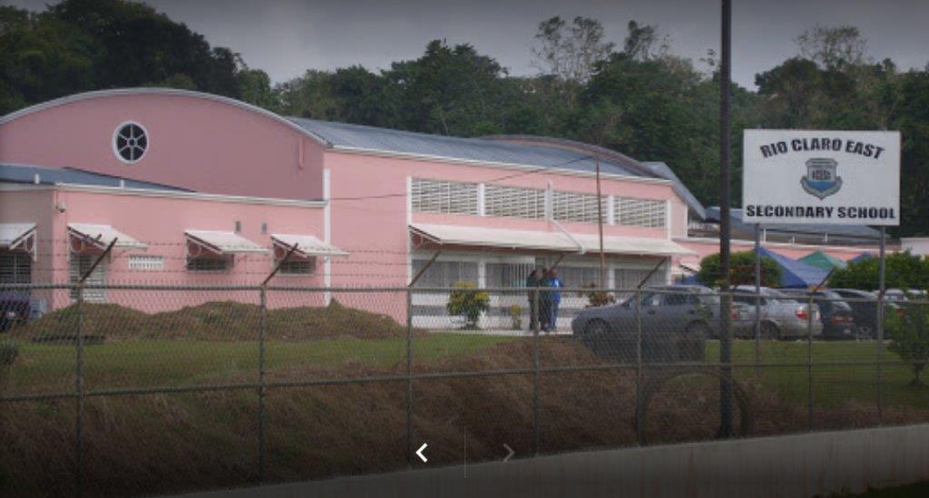 The Rio Claro East Secondary School. Photo via Google