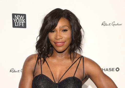 Serena Williams a révélé une première photo de sa fille