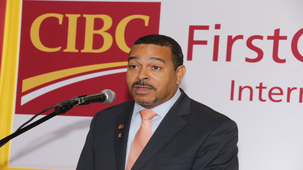 Managing Director of CIBC First Caribbean Jamaica, Nigel Holness