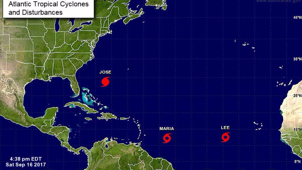Tracking the tropics: Jose stays off shore; Maria threatens the Caribbean