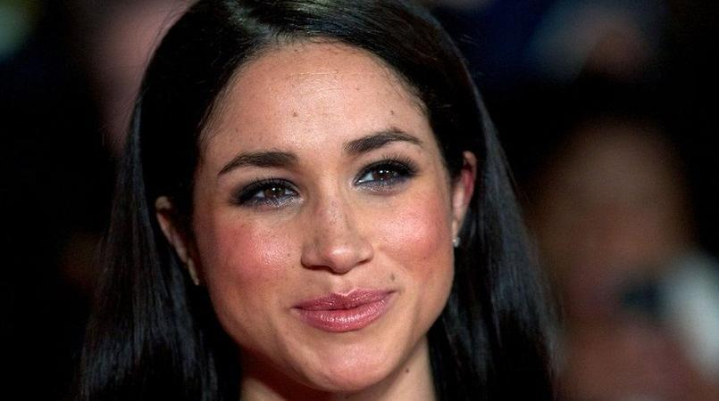 American actress Meghan Markle.