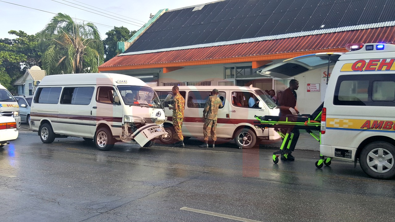Early morning accident along Princess Alice Highway in The City.
