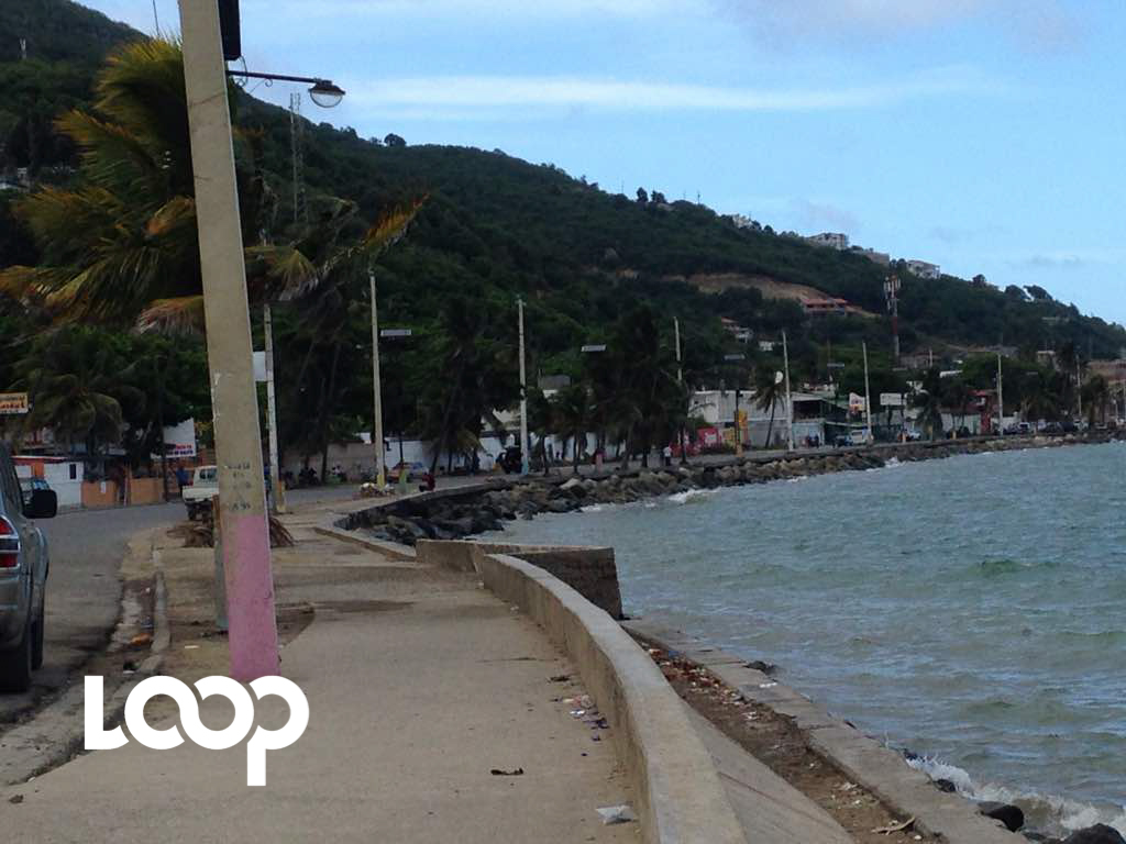 The seaside boulevard in the northern Haitian city of Cap-Haitien. (PHOTO: Loop Haiti)