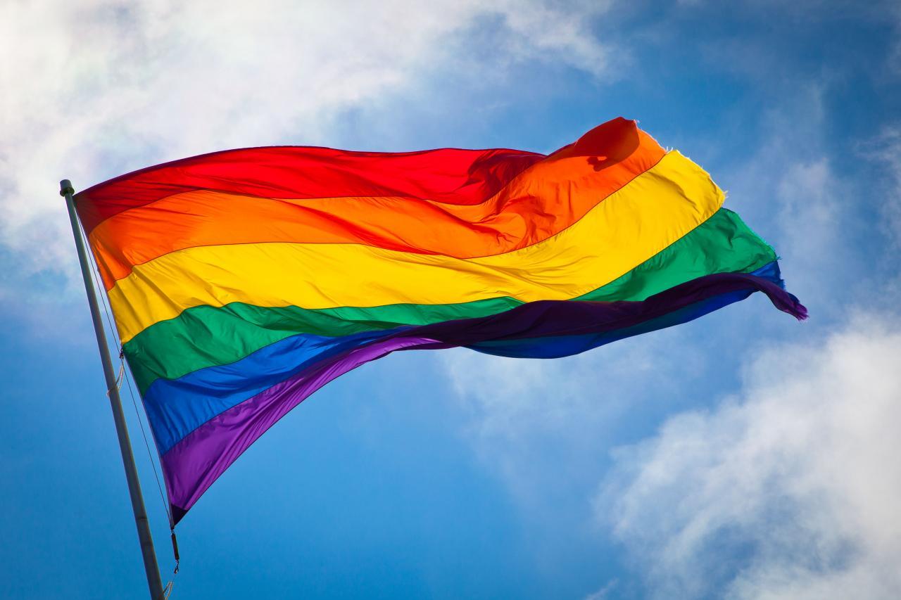 Le drapeau de la Communauté LGBT