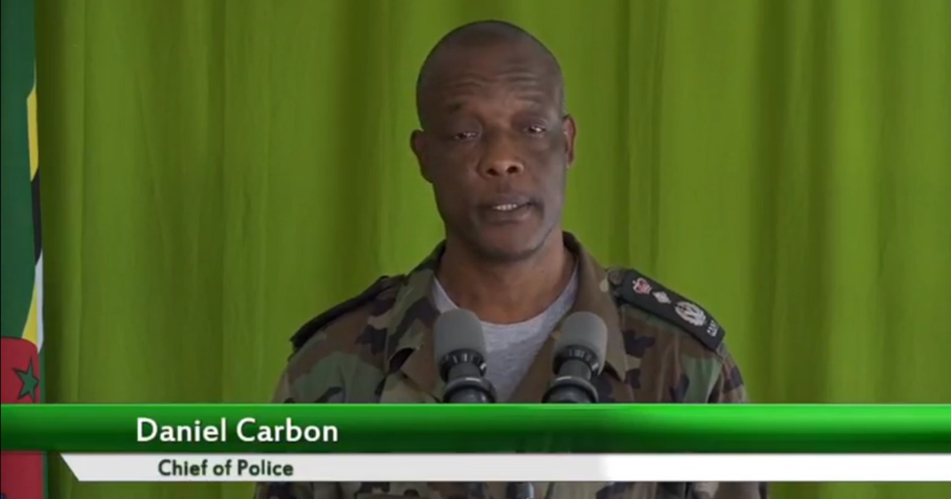 Chief of the Dominica Police Force, Daniel Carbon provided an update of the security situation in Dominica.