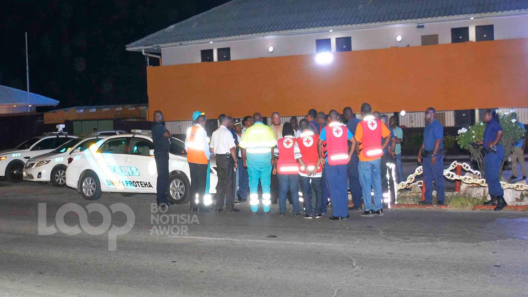 Situashon di emergensia ayera anochi pa un bom melding na aeropuerto HATO.