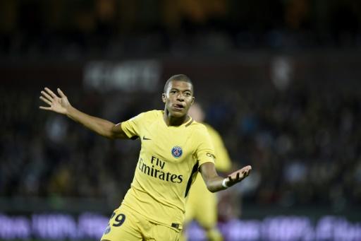 Première réussie pour Kylian Mbappé — Metz-PSG
