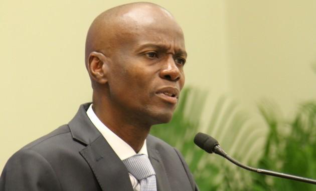 Le président de la République d'Haïti, Jovenel Moïse.