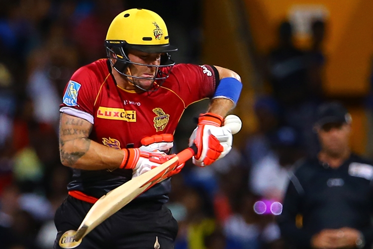 Trinbago Knight Riders have lost Brendon McCullum for the rest of the tournament