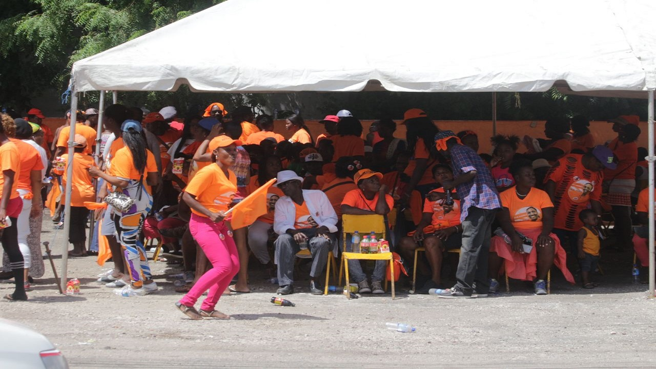 Loop file photo of the election to select a PNP representative in St Andrew South Eastern after the retirement of Portia Simpson Miller.