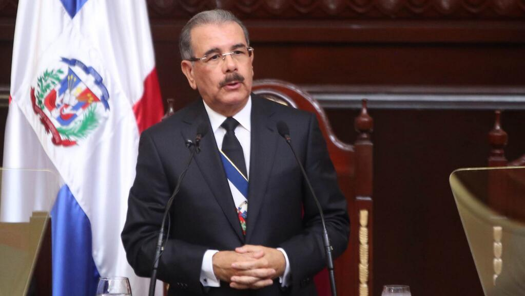 Danilo Medina, president de la Republique Dominicaine. Credit photo: Hoy Digital.