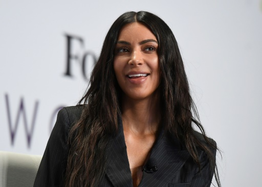 Kim Kardashian au Sommet des femmes de Forbes, le 13 juin 2017 à New York