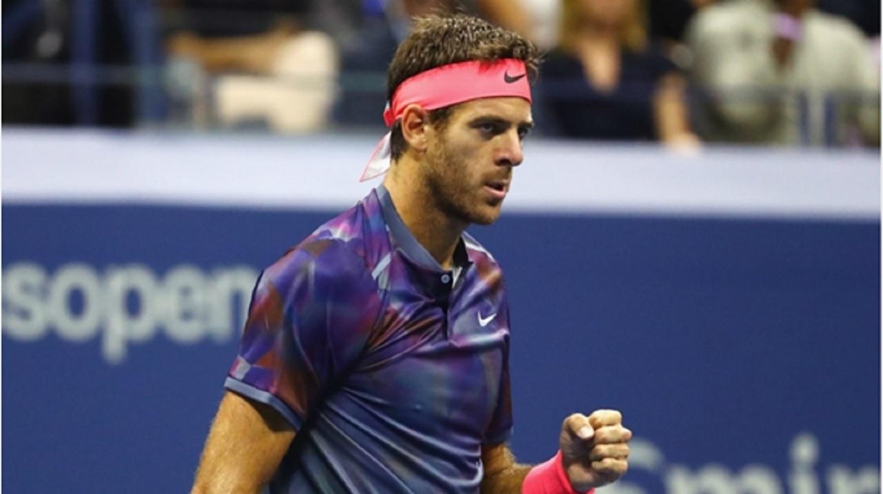 2009 US Open champion Juan Martin del Potro.