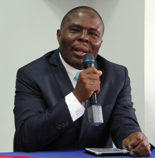Le ministre de l'éducation Josué Agénor Cadet./Photo: Loop Haiti
