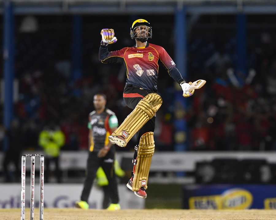 CPL 2017: Kevon Cooper heroics give Trinbago Knight Riders second title