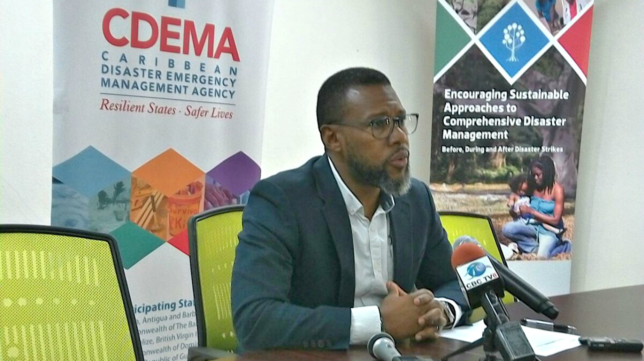 FILE - Executive Director of the Caribbean Disaster Emergency Management Agency (CDEMA), Ronald Jackson.