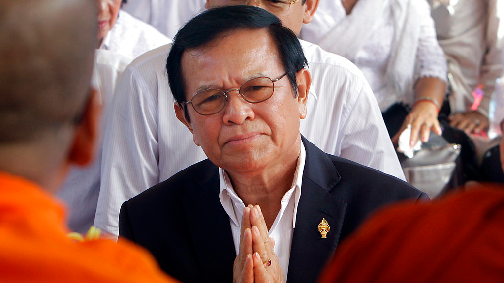 Cambodian prime minister says U.S. behind plot by opposition leader