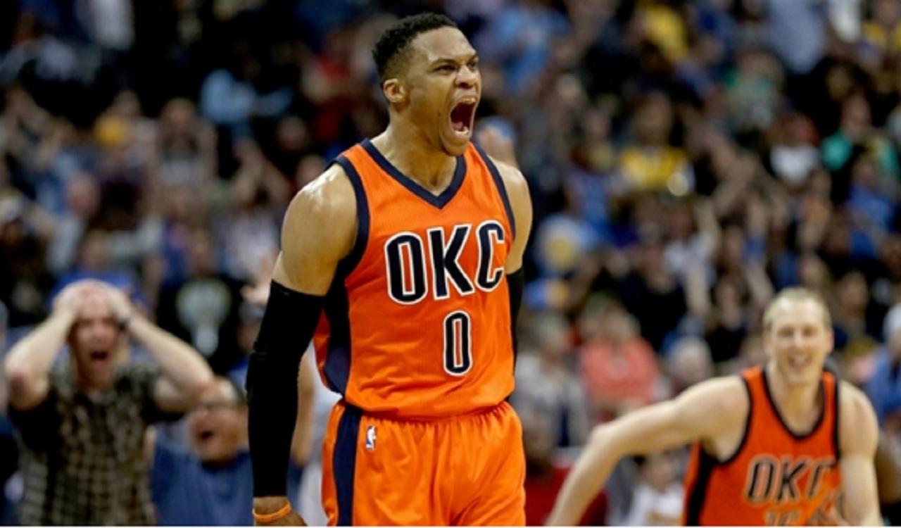 Oklahoma City Thunder star Russell Westbrook