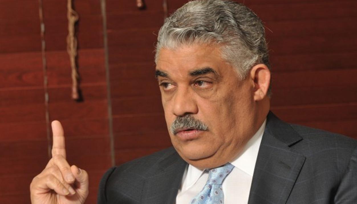 Le ministre dominicain des Affaires étrangères, Miguel Vargas Maldonado. Photo : Cachicha.com