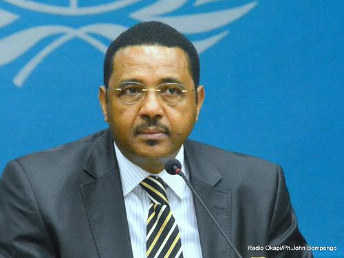 Mamadou Diallo représentant spécial adjoint de la MINUJUSTH. Crédit photo : OKAPI.