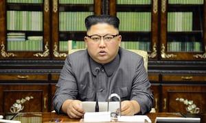Kim Yong-Un, actuel président de la Corée du Nord./Photo: The Guardian