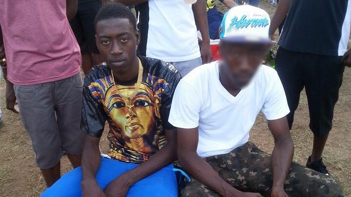 Pictured: Tabati Noel Hyland (left) was shot and killed by police in San Juan last night