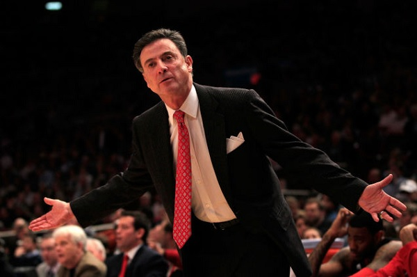 L'entraineur Rick Pitino./ Photo: Basket USA