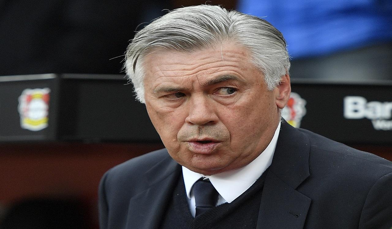 In this April 15, 2017 file photo Bayern head coach Carlo Ancelotti arrives to the German Bundesliga football match against Bayer Leverkusen  in Leverkusen, Germany.