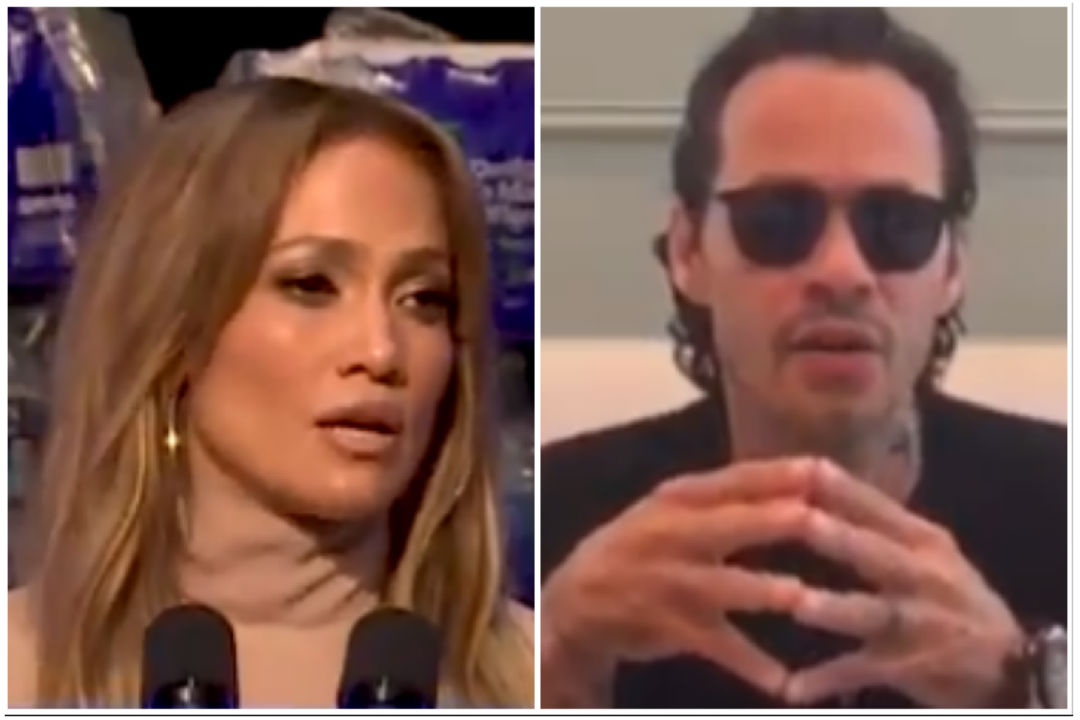 J.Lo and Marc Anthony helping Puerto Rico.