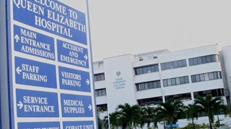 FILE - The Queen Elizabeth Hospital is one of several sites and buildings in Barbados that make reference to Barbados' colonial past.