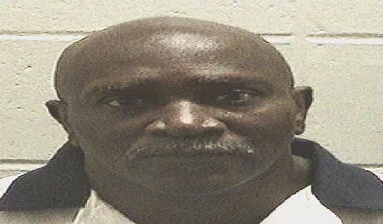 This undated photo provided by Georgia Department of Corrections shows Keith Leroy Tharpe. Tharpe, who killed his sister-in-law 27 years ago, is set to be executed Tuesday, Sept. 26, 2017.