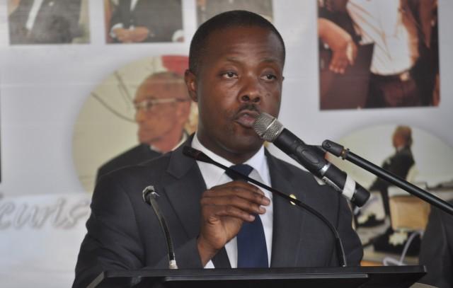 Maitre Stanley Gaston, bâtonnier de l'ordre des avocats de Port-au-Prince. Crédit photo: Radio Négritude.