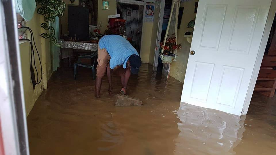 Barrackpore home affected by flooding
